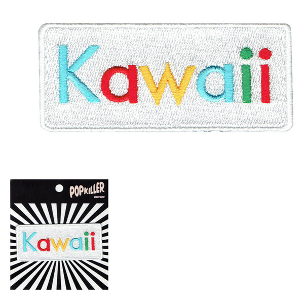 Kawaii Search Sew/Iron on Patch
