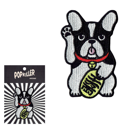 Lucky Dog Sew/Iron on Patch