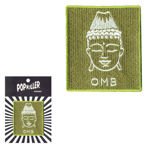 OMB (Oh My Buddha) Sew/Iron on Patch