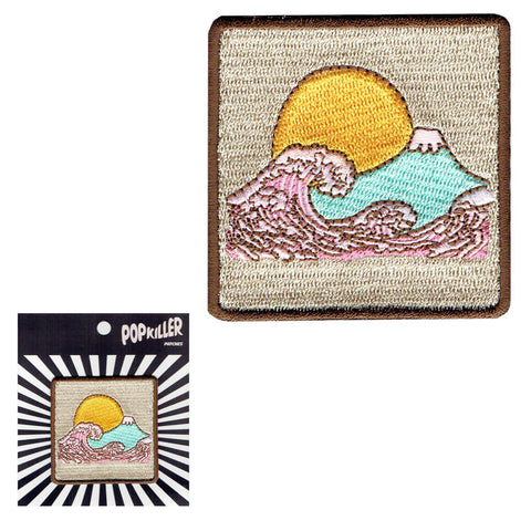 Pastel Wave Sew/Iron on Patch