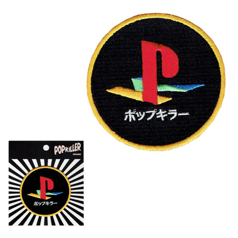 Popkiller Gaming Sew/Iron on Patch