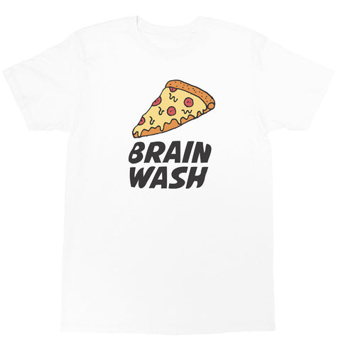 Popkiller Artist Series Brain Wash Pizza Classic T-shirt