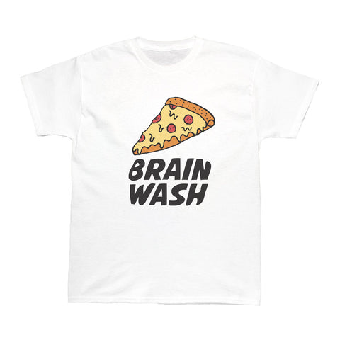 Popkiller Artist Series Brain Wash Pizza Women's T-shirt