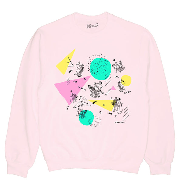 Pop Edo Disco Pullover Sweatshirt