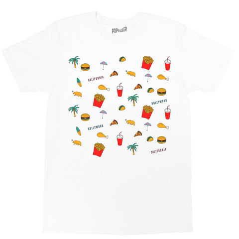 Pop Junk Foods Classic T-shirt
