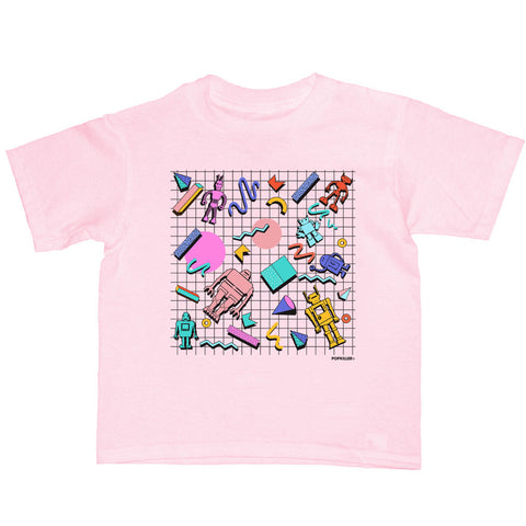 POP Robots Kid's T-shirt