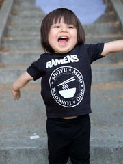 Japanese Ramens Music Kid's T-shirt