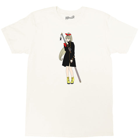 Popkiller Artist Series Sagaken Red Shoulder Classic T-shirt