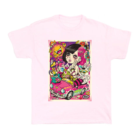 Popkiller Artist Series Grape Brain Soba Women's T-shirt
