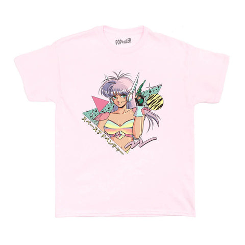 Popkiller Artist Series Mizucat Space Adventure Women's T-shirt