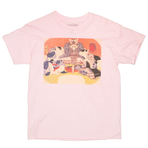 Ukiyoe t shirt ladies