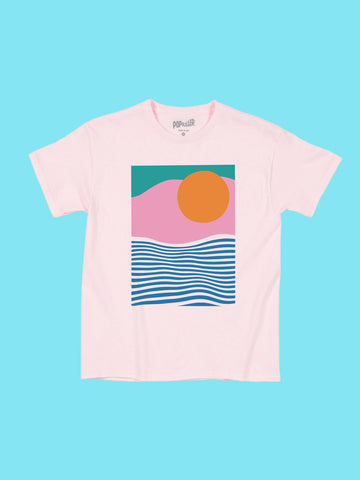 Vaporwave Sunrise Women's T-shirt