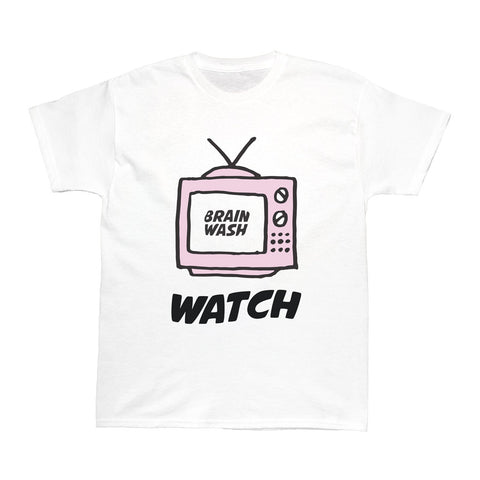 Popkiller Artist Series Brain Wash Watch TV Women's T-shirt