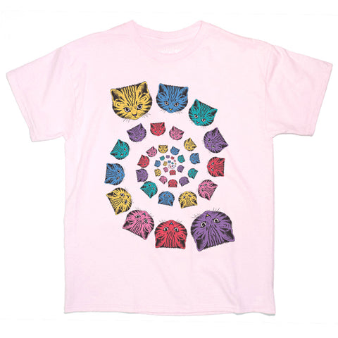 Spiral Cat Women's T-shirt