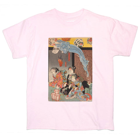 Japanese Ukiyoe Yokai Girls Women's T-shirt
