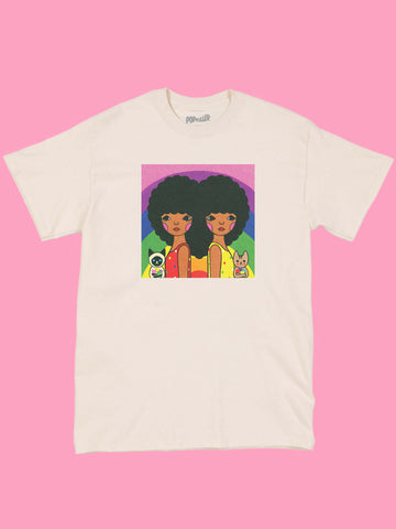 Popkiller Artist Series Naoshi We Love Rainbow Classic T-shirt