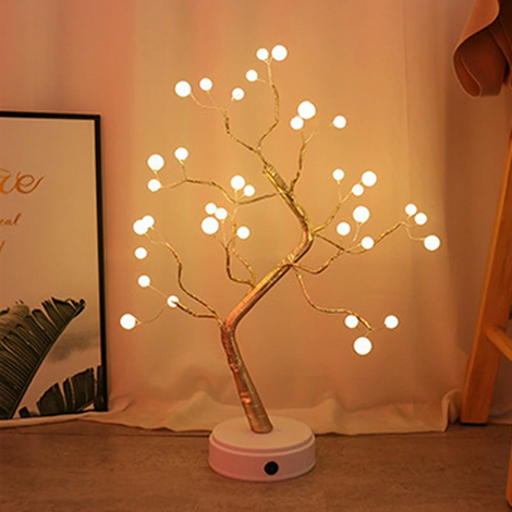 Led Desk Tree Decor Lamp