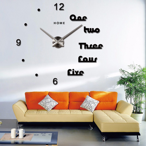 Modern Design 3D Wall Clock