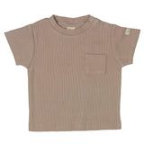 Dusty Pink Ribbed Tee