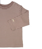 Dusty Pink Signature Stripes Long Sleeve Tee
