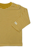 Ochre Signature Stripes Long Sleeve Tee
