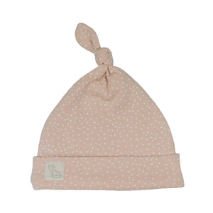 Ditsy Dots Knot Hat