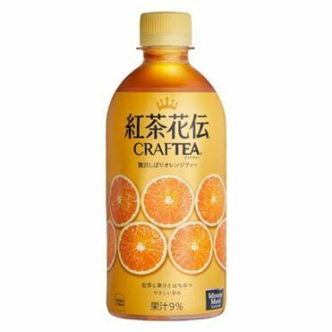 COCA-COLA Kocha-Kaden Craftea Orange 440ml