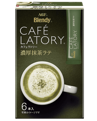 AGF Blendy Stick Café Latory Matcha Latte - TokyoMarketPH