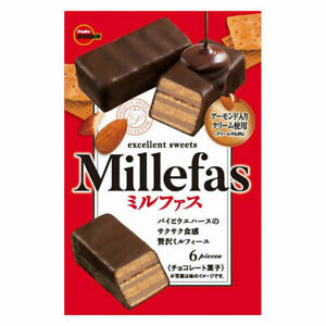 BOURBON Millefas ( pack of 6 )