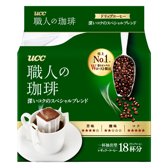 UCC Drip Coffee Special Blend ( pack of 18 )