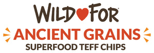 Gluten-free ancient grain superfood Wild For teff chips