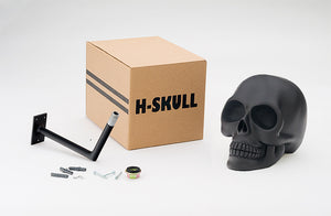 H-Skull Support pour casque Black