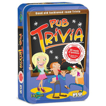Load image into Gallery viewer, Pub Trivia Game in Tin