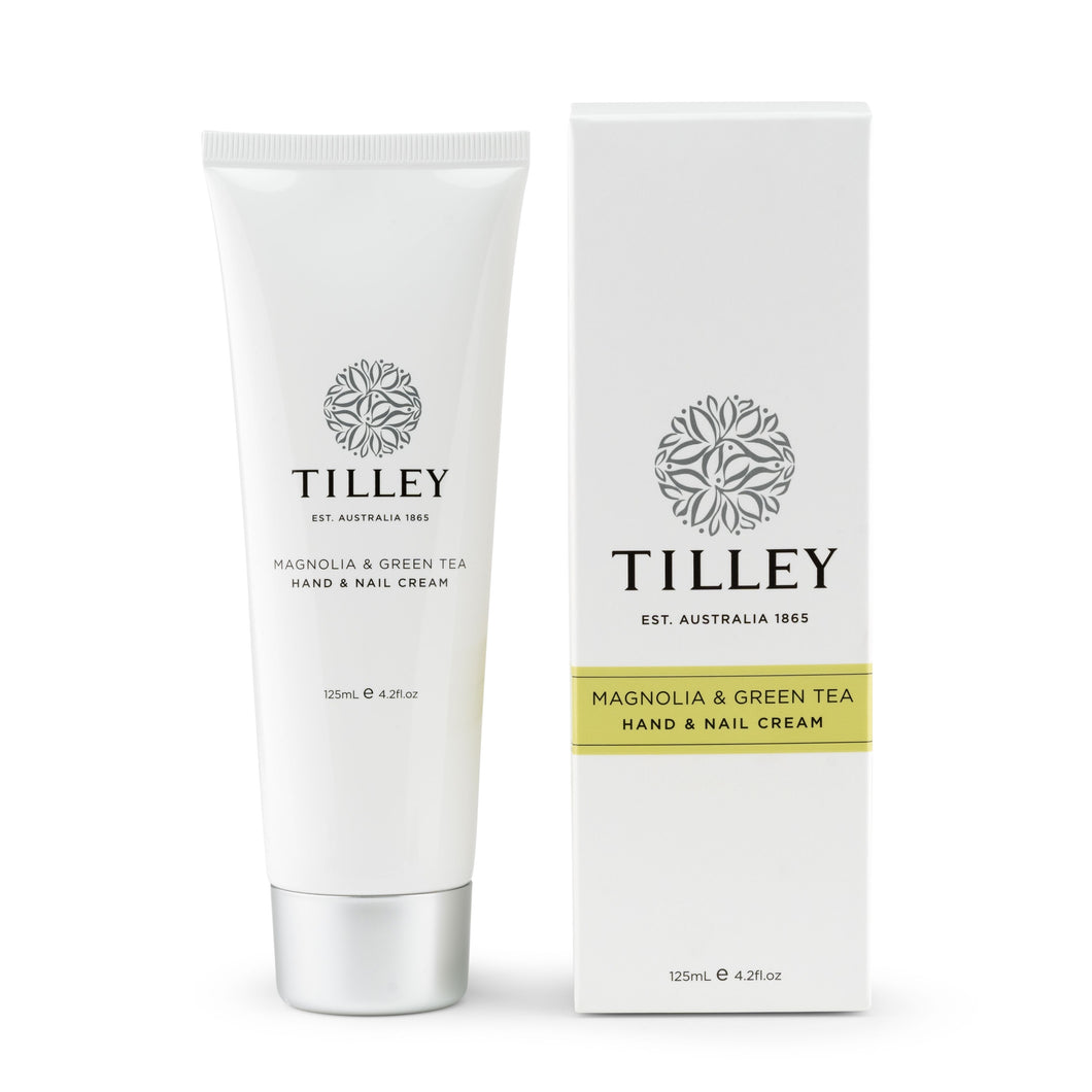 Tilley - Hand & Nail Cream - Magnolia & Green Tea 125mL