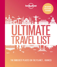 Load image into Gallery viewer, Lonely Planet - Ultimate Travel List 2