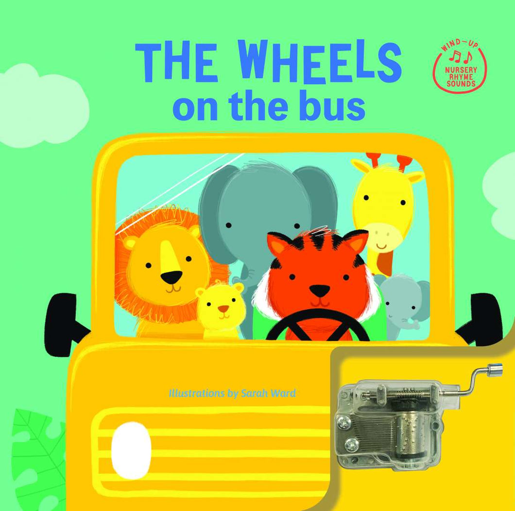 Wind Up Music Box Book Wheels On The Bus
