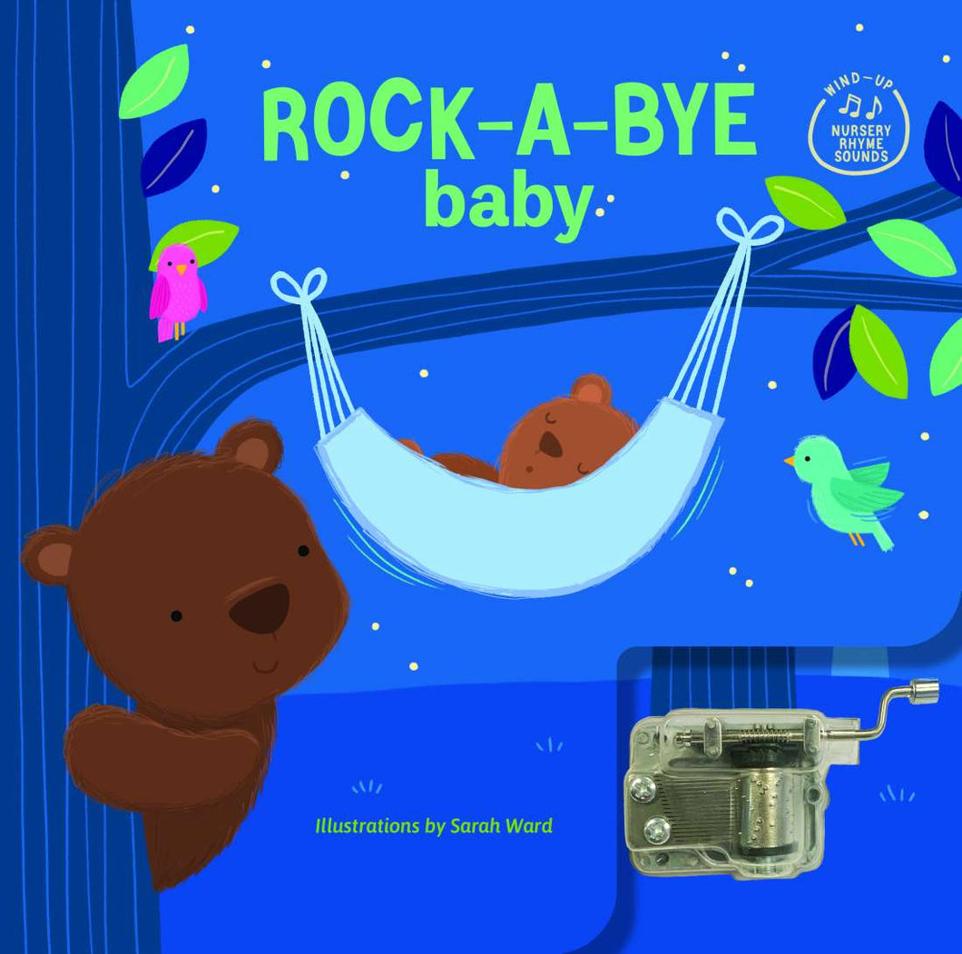 Wind Up Music Box Book Rock A Bye Baby