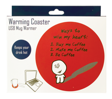 Load image into Gallery viewer, Warming Coaster - Ways to Heart