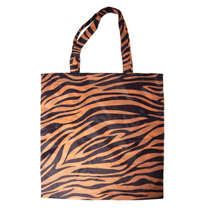 Foldable Shopper - Animal Stripes