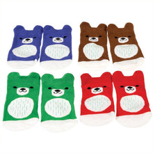 Load image into Gallery viewer, Baby Socks - Bear (4Pair)