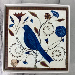 Coasters - Bird in Autumn (Set of 4)