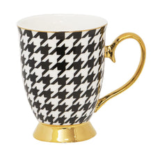 Load image into Gallery viewer, Mug - Ebony Houndstooth