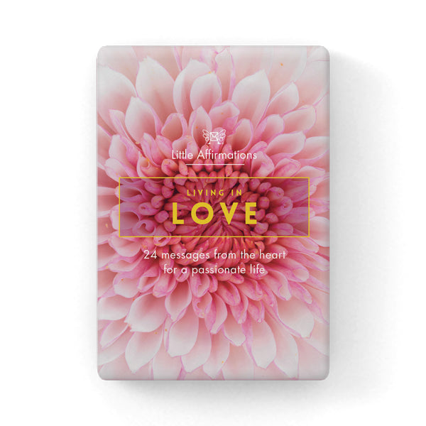 Living in Love Affirmation Cards