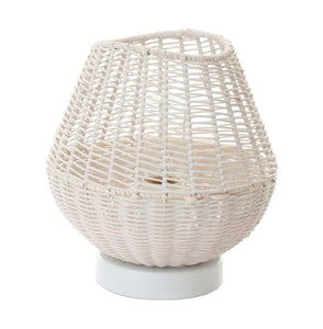 Gia Table Lamp - White