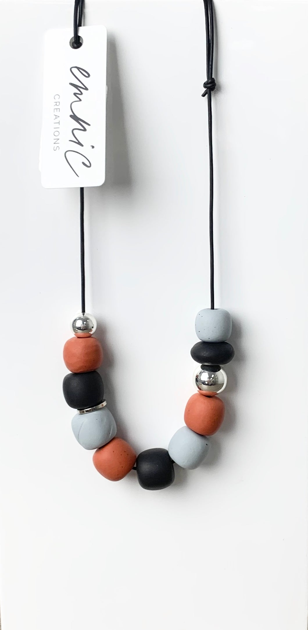 Emnic Necklace - Terracotta Multi