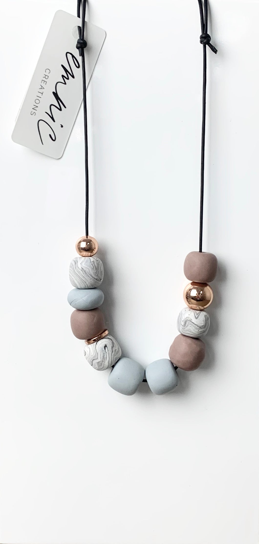 Emnic Necklace - Grey Multi