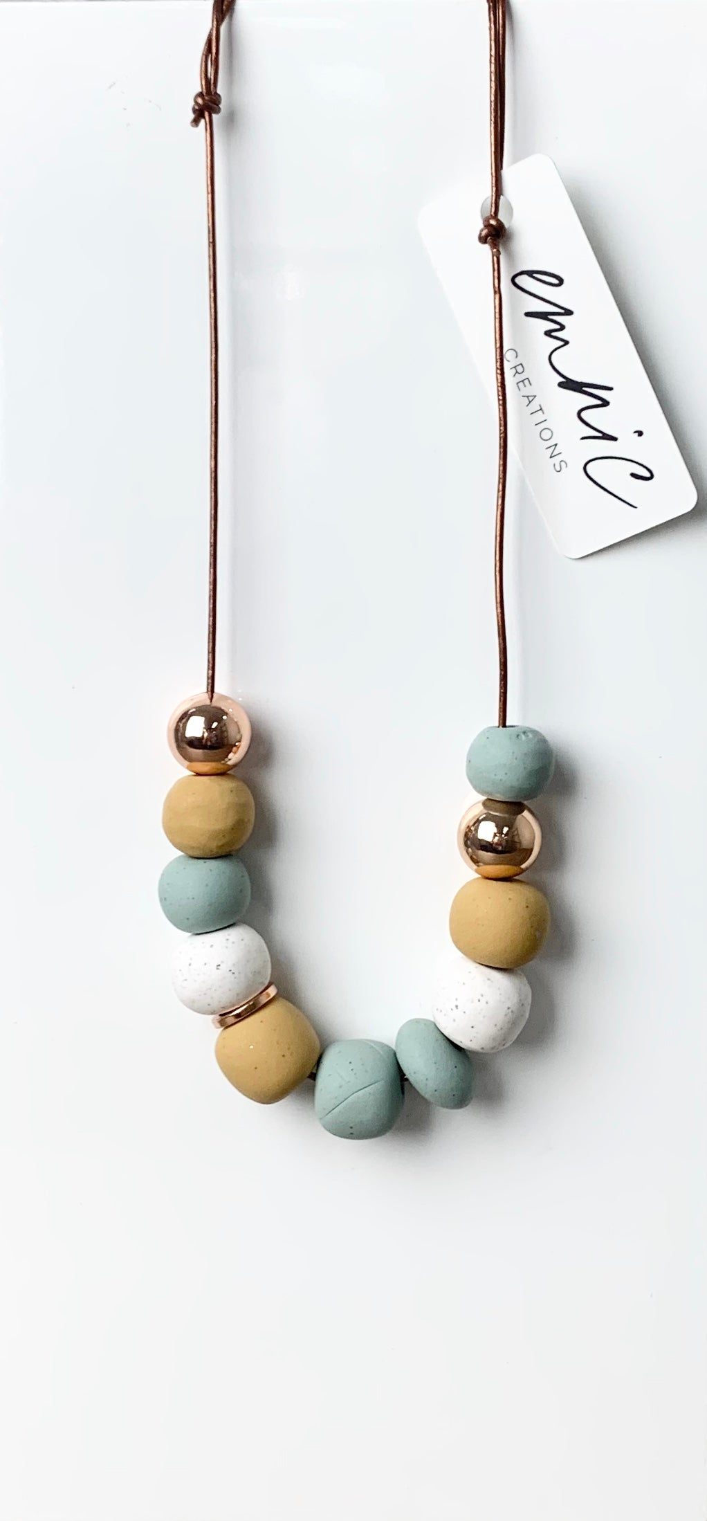 Emnic Necklace - Sage Multi