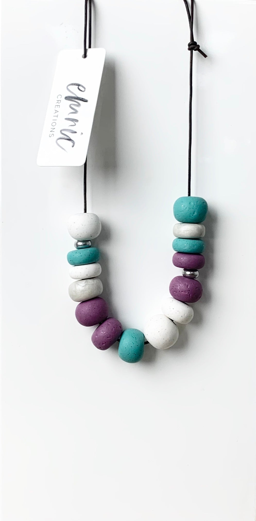 Emnic Necklace - Purple Multi