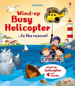 Wind-Up Helicopter Book (Board)