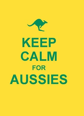 Keep Calm For Aussies Book
